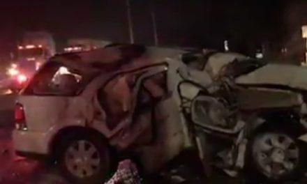 Fuerte accidente en la carretera Xalapa – Banderilla, a la altura del Gallito