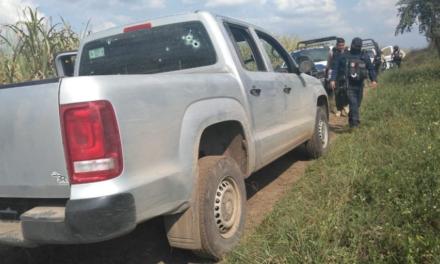 Asegura SSP 2 vehículos tras enfrentamiento en Omealca