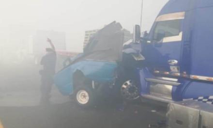 Video: Carambola en Libramiento de Toluca deja varios heridos