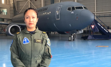 Historia de la mujer teniente piloto de la Fuerza Aérea Mexicana