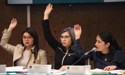 La Comisión de Igualdad de Género emite opinión positiva sobre iniciativa de interrupción legal del embarazo que dictaminará la Comisión de Salud.