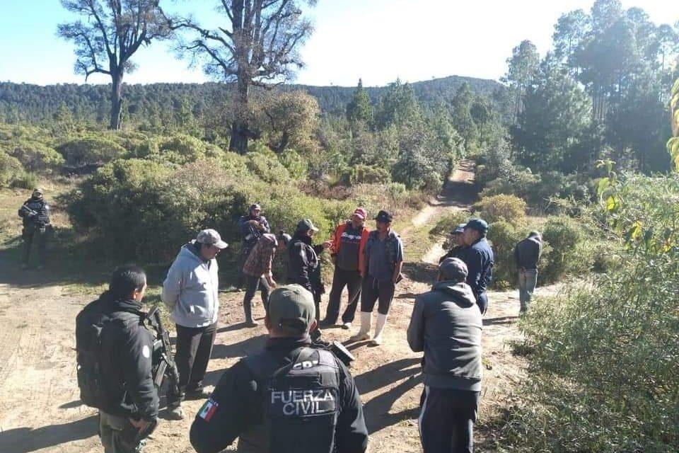 La Compañía de caballería de Fuerza Civil, refuerza seguridad en Perote