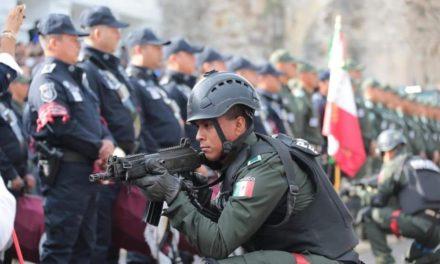 22 municipios recibirán recursos para el fortalecimiento de Seguridad.