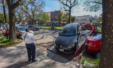 Se realiza operativo en la zona del CAE, avenida Ruiz Cortines, de la calle Acueducto hasta Cándido Aguilar