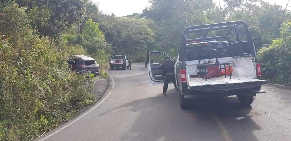 Fuerza Civil abate a tres presuntos delincuentes tras ataque a destacamento en Huatusco