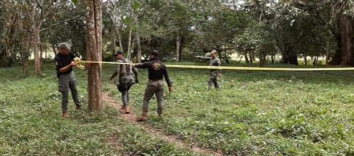 Seguridad Pública localiza fosa clandestina, en Playa Vicente