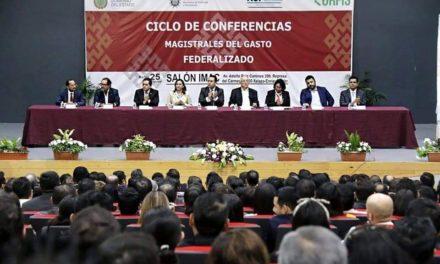 Capacita ASF a los tres órdenes de gobierno en el uso correcto de recursos, en el IMAC de Xalapa.
