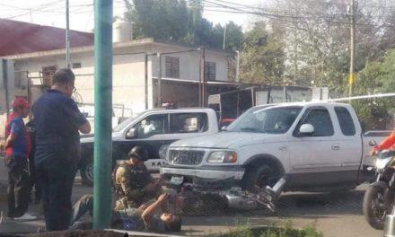 Motociclista lesionado en accidente de tránsito sobre la avenida del Café