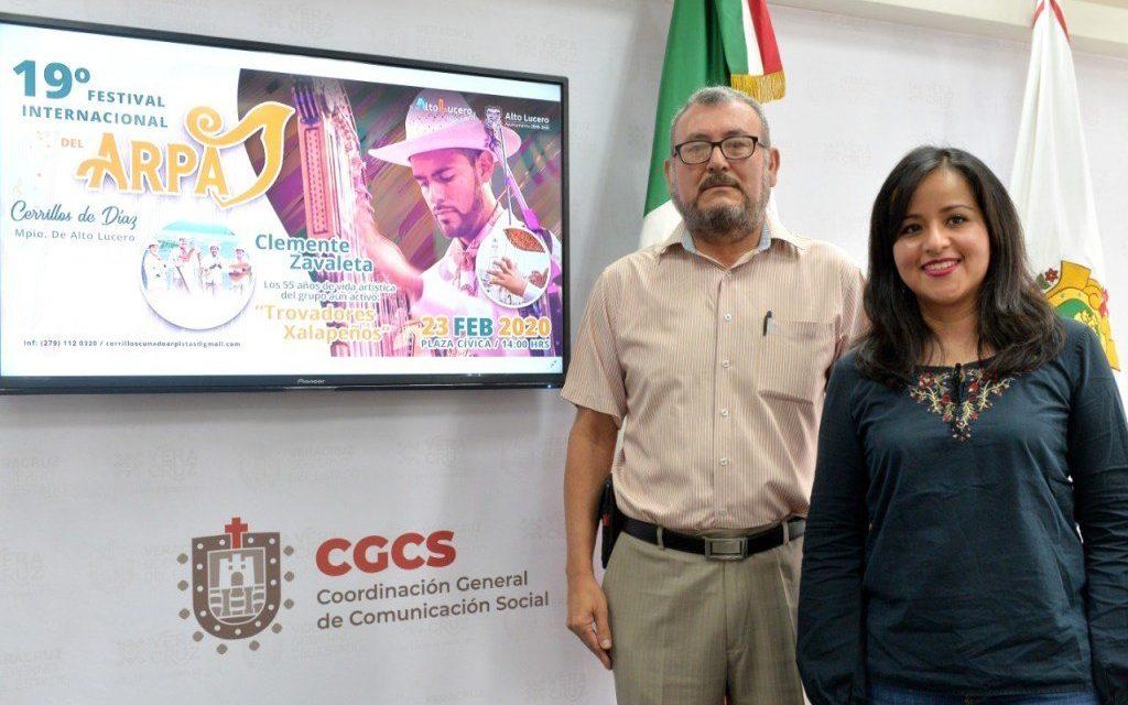 Próximo 23 de febrero se realizará la edición número 19 del Festival Internacional de Arpa, en la localidad de Cerrillos de Díaz.