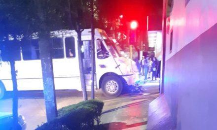 Motociclista lesionado en accidente de tránsito sobre la avenida Américas