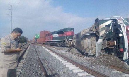 Un muerto y dos heridos al descarrilar un tren en Sonora