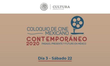 Último día del Coloquio de Cine Mexicano Contemporáneo en El Agora de la Ciudad