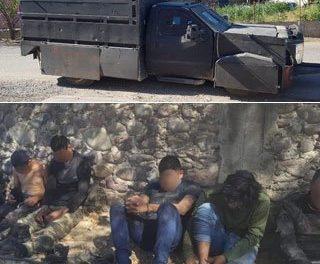 Decomisan armas y arrestan a 18 sujetos en Guerrero