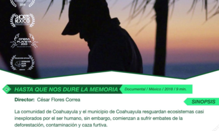 IVEC presenta filmes para reflexionar en temas ambientales los días 07, 08 y 22 de febrero en el Ágora de la Ciudad y el Jardín de las Esculturas.