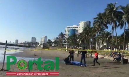 Muere turista ahogado en playa de Boca del Río
