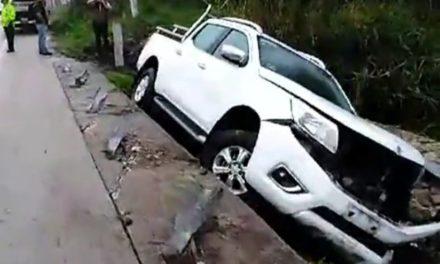 Al menos 3 accidentes en la carretera Xalapa-Coatepec, la tarde de este jueves.