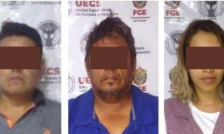 Tres presuntos responsables fueron detenidos por secuestro en Amatlán de Los Reyes