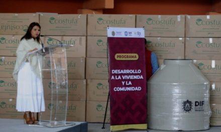Beneficia DIF Estatal a más familias en municipios de alta marginación