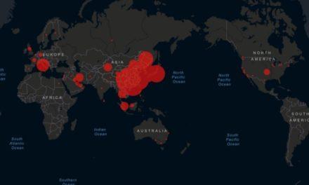 Este mapa te muestra la situación del coronavirus en el mundo.