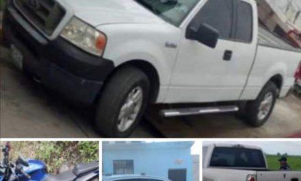 Recupera SSP 10 vehículos en diferentes municipios