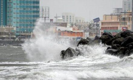 Norte con rachas de hasta 125 kilómetros por hora en zonas costeras del Estado para este miércoles. La SPC de Veracruz emitió la alerta gris por el ingreso del frente frío 41