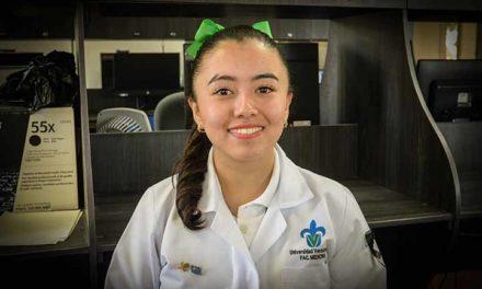 Alumna de Medicina participó en asamblea juvenil de la ONU