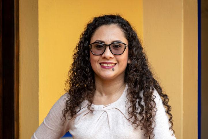 Marcela Quiroz Castellanos, del Centro de Investigación en Inteligencia Artificial