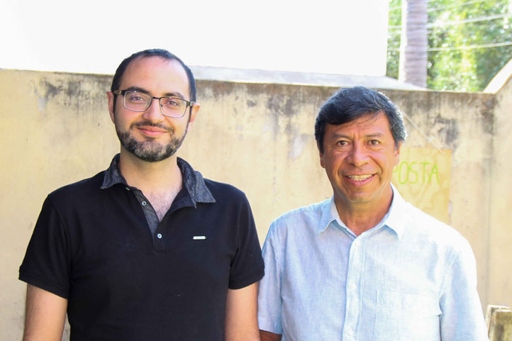 Antonio Pensado y Miguel Escalona