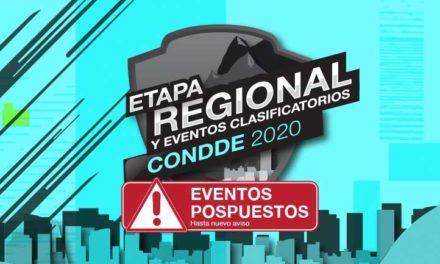 Condde pospone Universiada Regional y IV Encuentro Nacional