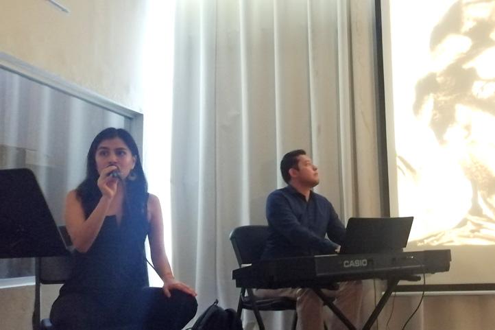 Stephanie Monterrosas y Daniel García
