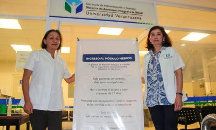 SAISUV estableció filtro para pacientes con infección en vías respiratorias