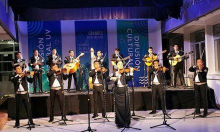 Mariachi Universitario ofreció concierto a puerta cerrada