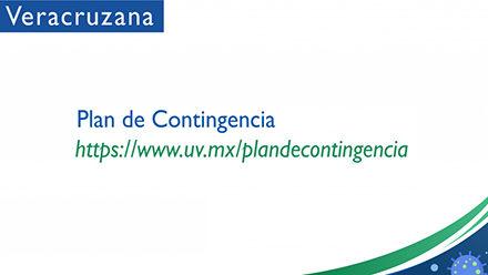 Continuidad de la UV está organizada en el Plan de Contingencia Covid-19