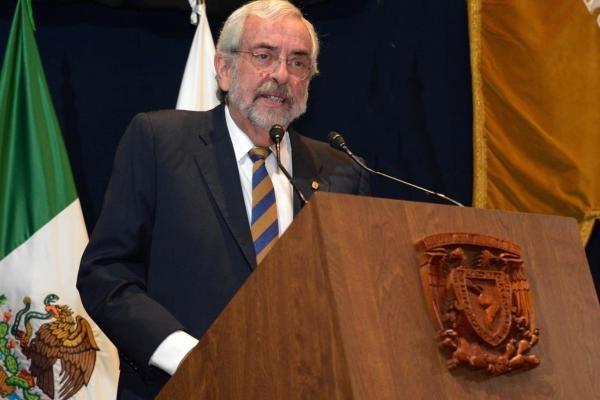 """Rector de la UNAM """"Necesitamos superar el temor y la incertidumbre anteponiendo la racionalidad, el optimismo y la esperanza"""""""