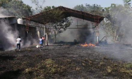 Se registra incendio forestal en Xico