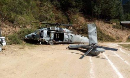 Un policía muerto y 9 personas heridas el saldo de la caída de Helicóptero de la Semar en Tehuipango realizaba operativo de rescate de personas secuestradas