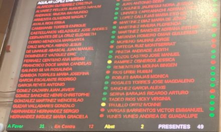 Erik Iván Aguilar es desaforado como diputado local, así la votación.