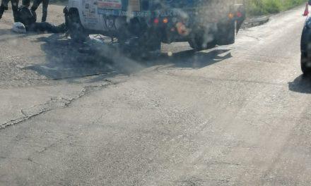 Accidente de tránsito sobre la avenida Antonio Chedraui Caram