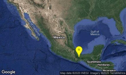 Reportan sismo de magnitud 4.0 al sur de Veracruz