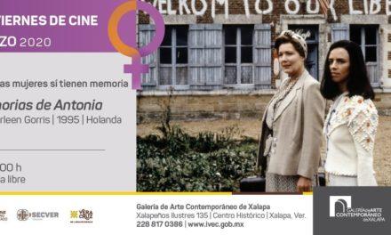 """""""Memorias de Antonia"""" en viernes de cine en la Galería de Arte Contemporáneo"""
