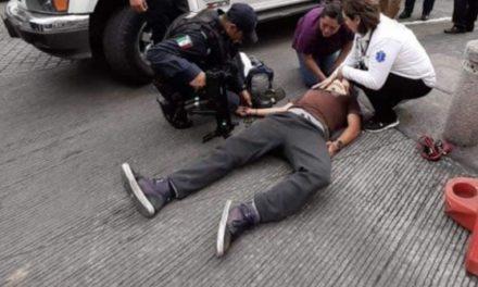 Se lesiona joven en patineta en el centro de Xalapa