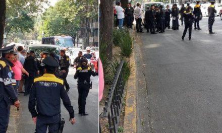 Video: Se registra balacera cerca de Torre Diana en CDMX