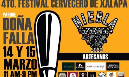 Festival Niebla Fest 2020, los días 14 y 15 de marzo, busca apoyar a productores locales
