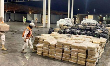 DECOMISA GUARDIA NACIONAL MÁS DE UNA TONELADA DE COCAÍNA EN CHIAPAS