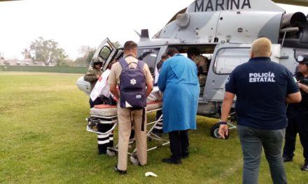 Diez heridos por volcadura de patrulla de SSP en Tierra Blanca