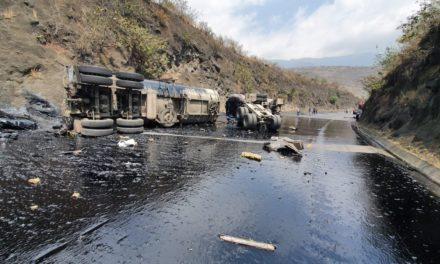 Se registra cierre de circulación por Accidente en la Aut Puebla-Córdoba km 245, mismo tramo dirección Veracruz