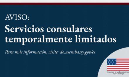 La embajada de Estados Unidos en México anunció la suspensión, a partir de este miércoles, en la expedición de visas