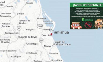 """Niegan el ingreso a vehículos de otros estados en Tamiahua por coronavirus, se trata de una emergencia sanitaria """"No son vacaciones!, señaló la alcaldesa Citlalli Medellín"""