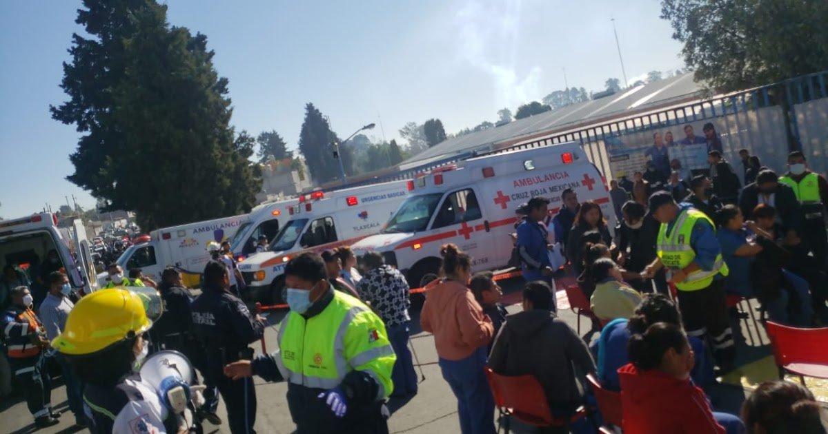 Se registra intoxicación masiva por fuga de amoniaco en empresa de Ixtacuixtla, Tlaxcala