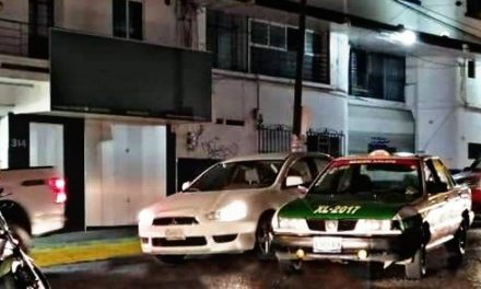 Accidente de tránsito sobre la avenida 20 de Noviembre, a la altura de La Piedad
